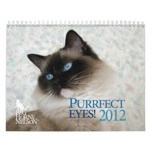 Purrfect Eyes! 2012 Cat Calendar