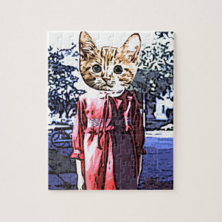 Purrfect first day jigsaw puzzle