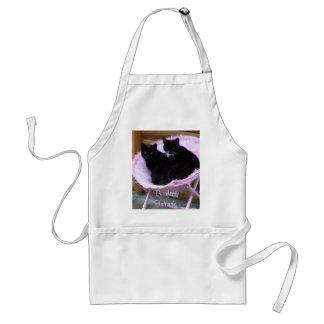 Purrfect Friends Cat Theme Adult Apron