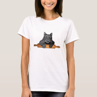 purrfect funny baker cat T-Shirt