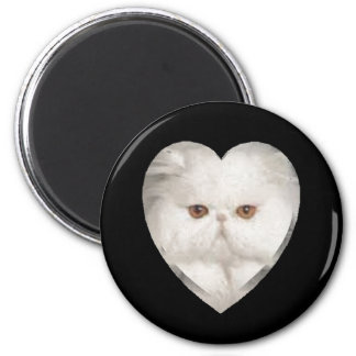 Purrfect Kitty 2 Inch Round Magnet