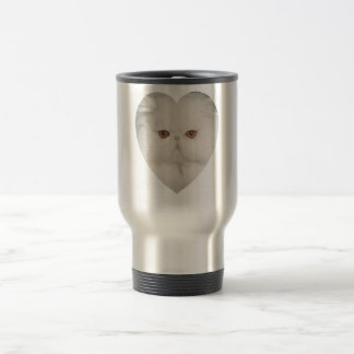 Purrfect Kitty 15 Oz Stainless Steel Travel Mug