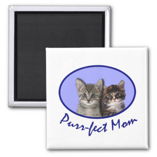 Purrfect Mom Mother's DayTshirts, Totebags, Mugs Fridge Magnets