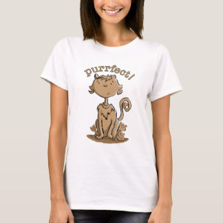 Purrfect Mommy cat and kittens T-Shirt