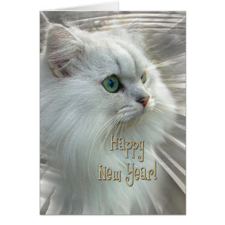 Purrfect New Year Card
