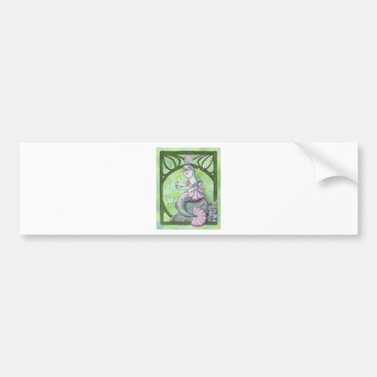 Purrfect Pearl Bumper Sticker