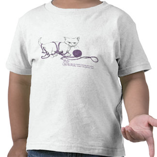 PURRfect Play shirt! Toddlers Tee