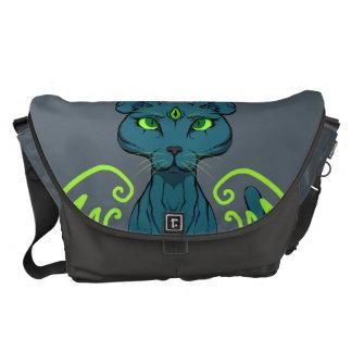 Purrfect Sight Messenger Bag