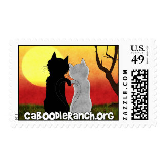 'Purrfect' Stamp