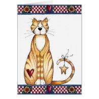 Purrfect Valentine - Valentine's Card