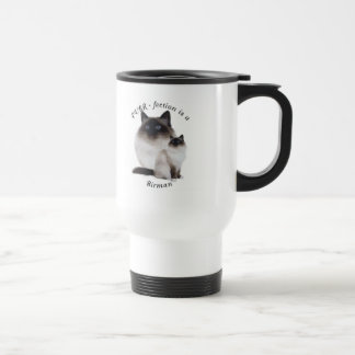 Purrfection Birman Travel Mug