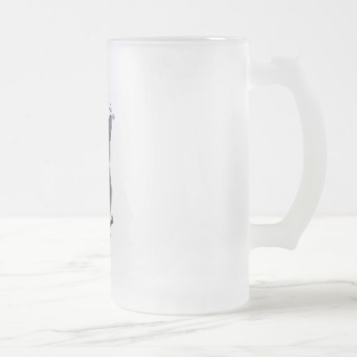 PURRfection Burmese Brown Tortie 16 Oz Frosted Glass Beer Mug