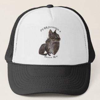 PURRfection Devon Rex Trucker Hat