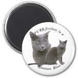 PURRfection Russian Blue Refrigerator Magnets