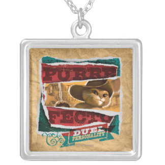 Purrfecto Silver Plated Necklace