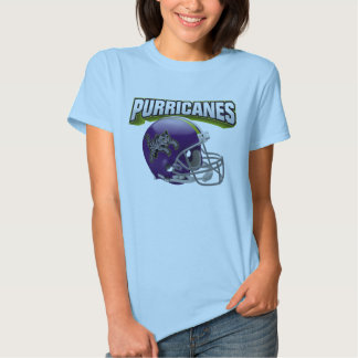 "Purricanes ""Big Head"" Tee: Home T Shirt"