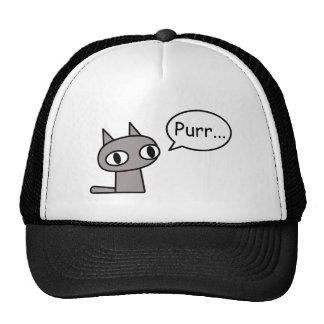 Purring Cat Mesh Hat