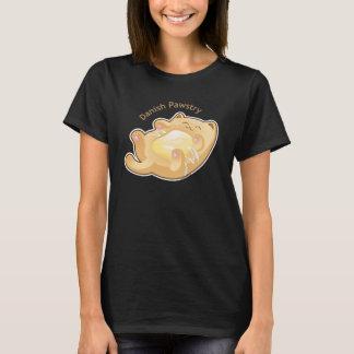 Purrista Pawfee: Cute Danish Pastry Cat T-Shirt