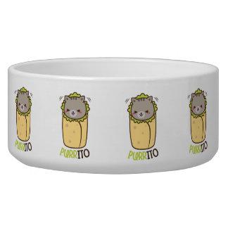 Purrito Kitty Cat Burrito Bowl
