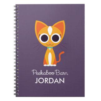 Purrl el gato libros de apuntes