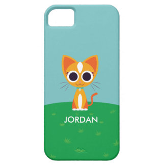 Purrl the Cat iPhone 5 Covers
