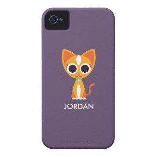 Purrl the Cat Case-Mate iPhone 4 Case
