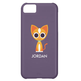 Purrl the Cat Cover For iPhone 5C