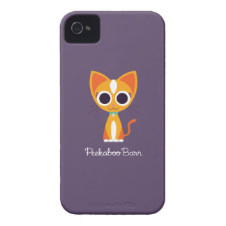 Purrl the Cat iPhone 4 Cover