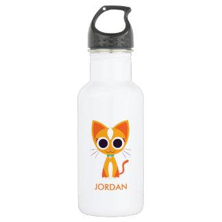 Purrl the Cat Water Bottle