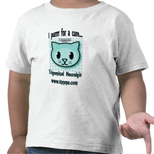 Purrr I para una camiseta del niño de la curación