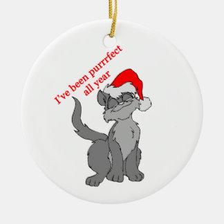 Purrrfect Cat Ornaments