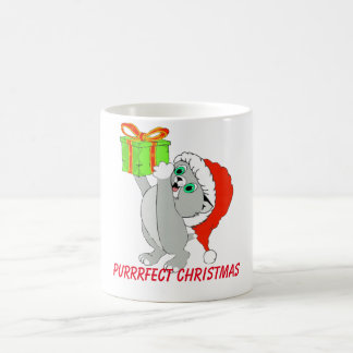 Purrrfect Christmas Kitten Coffee Cup Mugs