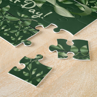 Purrrfect Day Calico Kitten Jigsaw Puzzle