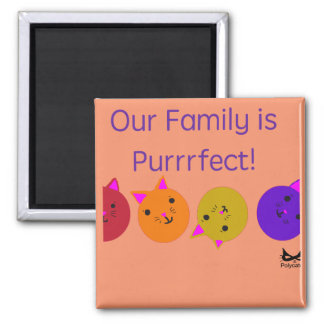 Purrrfect Family Magnet