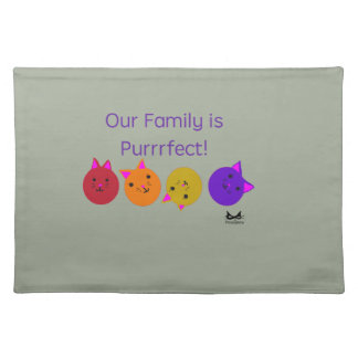 Purrrfect Family Placemat