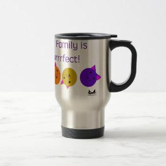 Purrrfect Family Travel Mug