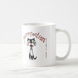 purrrfection coffee mug