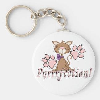 Purrrfection Keychain