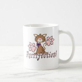 Purrrfection Kitty Coffee Mug