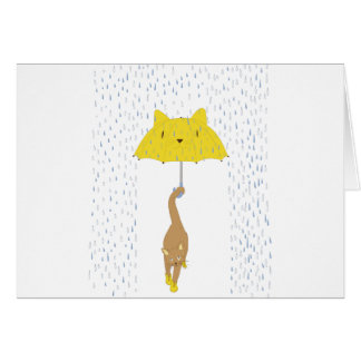 Purrrfectly Dry Card