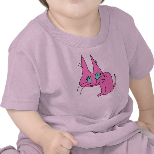 Purrrs rosado perfectamente camiseta