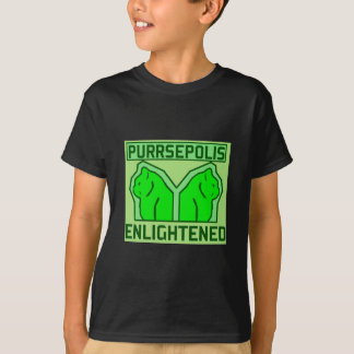 Purrsepolis enlightened ingress anomaly T-Shirt