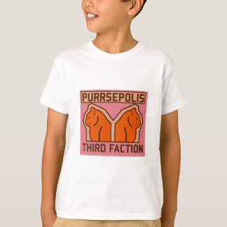 Purrsepolis Mystery Third Faction T-Shirt
