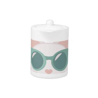 Purrty Cool Teapot