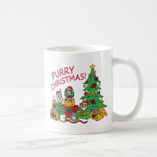 Purry Christmas! Coffee Mug