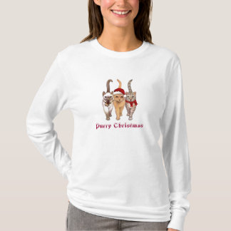 Purry Christmas & Happy Mew Year CAT Womens Hoodie