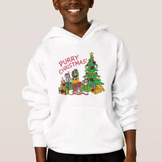 Purry Christmas! Hoodie