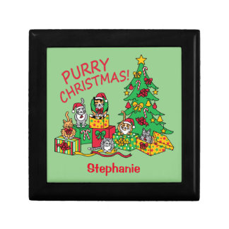 Purry Christmas! Jewelry Box