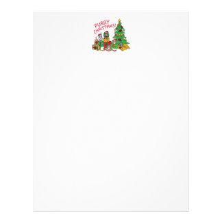 Purry Christmas! Letterhead