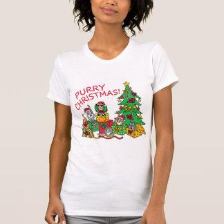Purry Christmas! T-Shirt